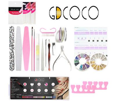 Набор для маникюра и дизайна ногтей GDCOCO DIY Kit
