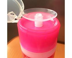Жидкость для снятия всех видов гель-лака с помпой (140 мл.)