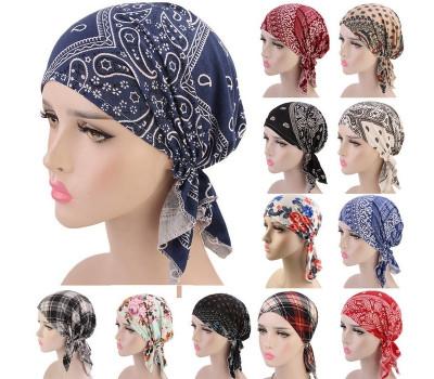 Модный женский платок на голову после химиотерапии