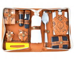 Подарочный набор путешественника с фляжкой