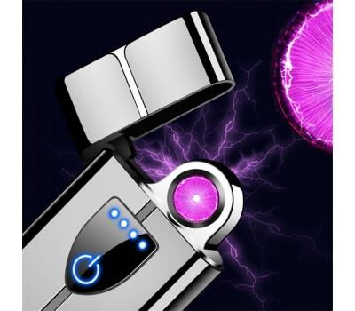 USB зажигалка с вращающимся кольцом плазмы