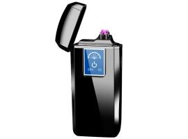 Плазменная USB зажигалка H20065 с дисплеем