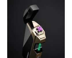 Сенсорная зажигалка Honest YJ176 с зеленым лазером