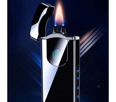 Сенсорная USB зажигалка с мощным электрическим пламенем