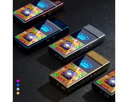 Электроимпульсная USB-зажигалка с игрой Casino