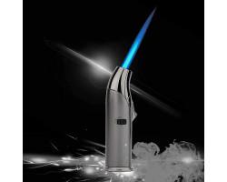 Турбо зажигалка JOBON газовая с пьезорозжигом