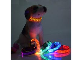 Ошейник с подсветкой для собаки (L 45-52 см.)