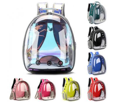 Прозрачный рюкзак-переноска для кошек и собак