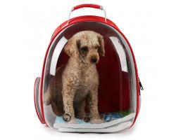 Рюкзак-переноска прозрачный для кошек и собак