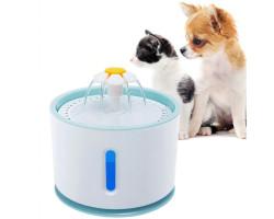 Электрическая поилка для животных с фонтаном (2,4 л.)
