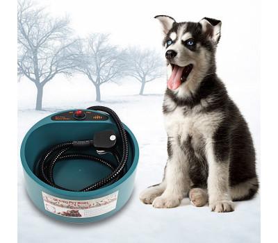 Миска для собак с автоматическим подогревом