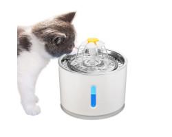 Поилка с фонтаном для кошек и небольших собак (2,4 л.)