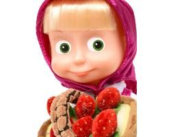 "Мягкая кукла-игрушка ""Маша с копилкой"""