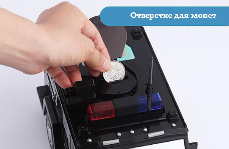 Копилка-сейф электронная машина