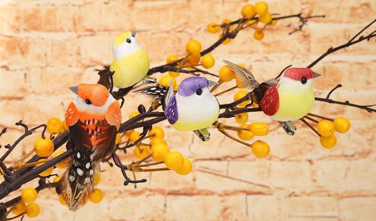 Набор птиц для декора