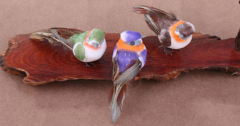 Птицы для декора