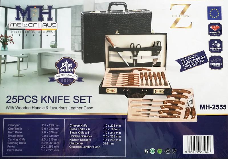 Набор ножей в кейсе MeizenHaus MH-2555