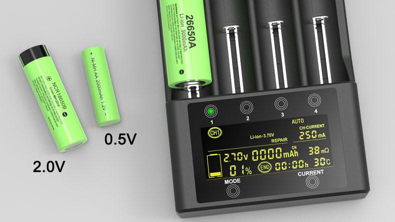 Зарядное устройство Liitokala Lii-600
