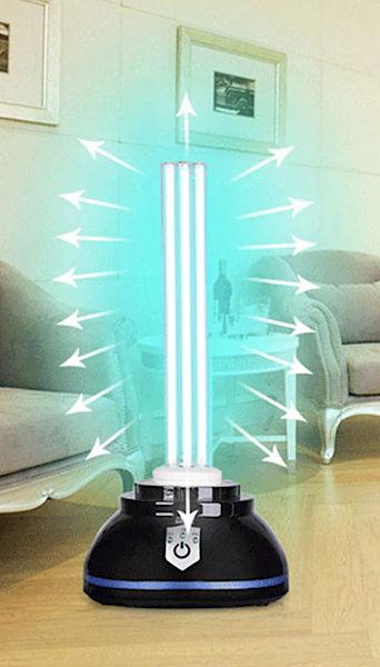 Ультрафиолетовая бактерицидная лампа для дома