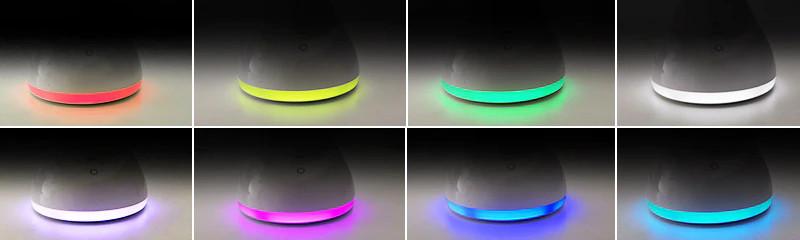 Складная настольная лампа LAOPAO T19A с температурой и часами