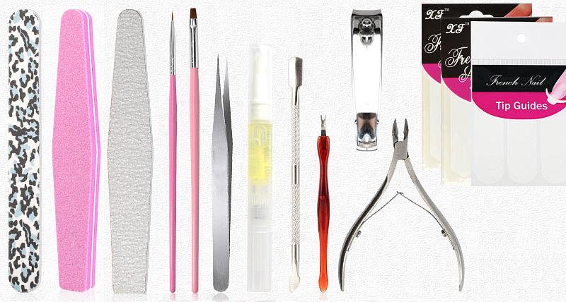 Набор для маникюра и дизайна ногтей GDCOCO DIY
