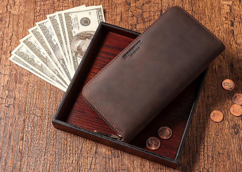 Длинный мужской кошелёк KAVI'S