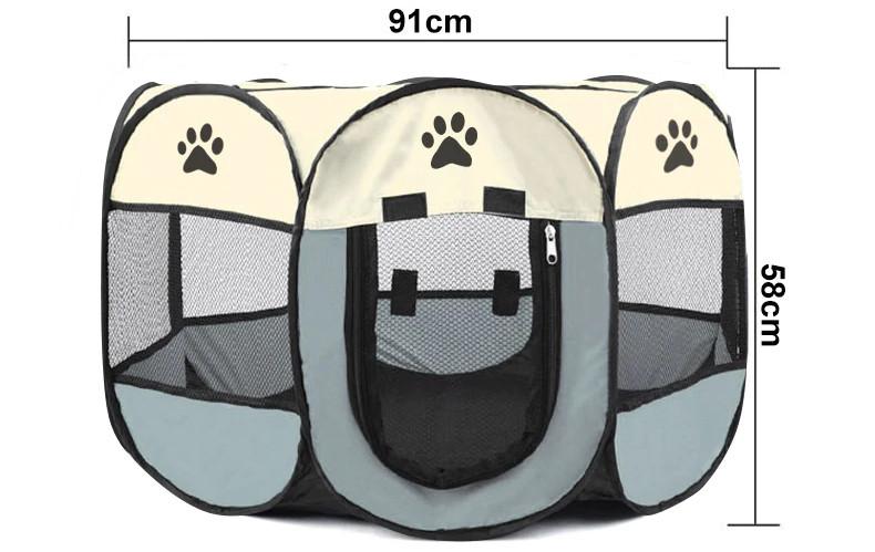 Складной домик-манеж для животных