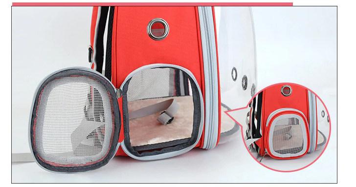 Рюкзак-переноска прозрачный
